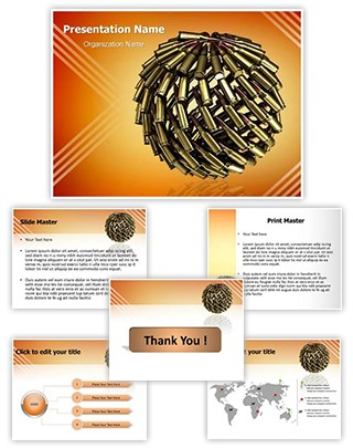 Bullet Planet Editable PowerPoint Template
