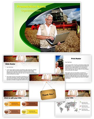 Agriculture Technology Editable PowerPoint Template