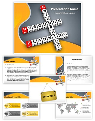 Corporate Erp Editable PowerPoint Template