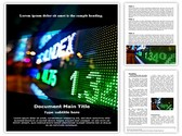 Stock Market Display Template