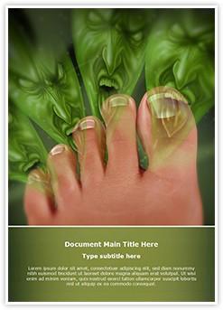 Smelly Feet Editable Word Template