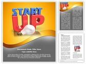 Startup Innovating Idea Editable Word Template