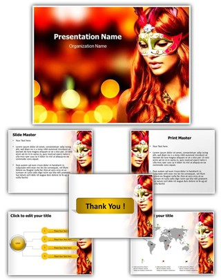 Carnival Editable PowerPoint Template