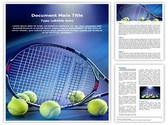 Tennis Racket Template