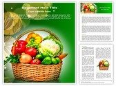 Vegetable Basket Template