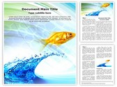 Water Fish Template