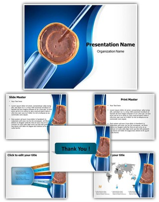Cell Manipulation Editable PowerPoint Template