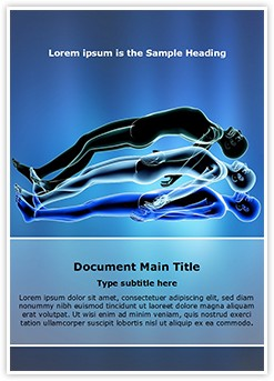 Astral Projection Editable Word Template