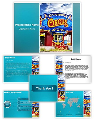 Circus Editable PowerPoint Template