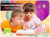 Birthday celebration Editable PowerPoint Template