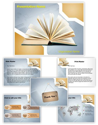 Publication Editable PowerPoint Template