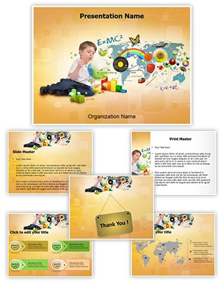 Elementary Education Editable PowerPoint Template