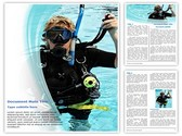 Scuba Diver Template
