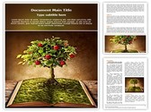 Book of Fruits Template