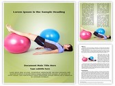 exercise with ball Template