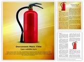 Fire extinguisher Editable Word Template