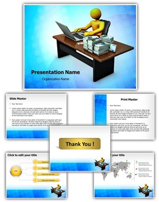 Chief Financial Officer Editable PowerPoint Template