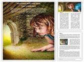Alice in Wonderland Editable Word Template