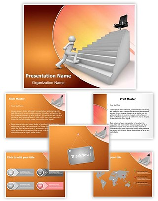 Job Promotion Editable PowerPoint Template