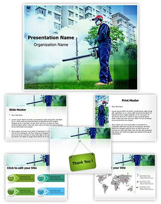 Environmental Health Editable PowerPoint Template