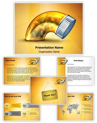 Erectile Dysfunction Medicine Editable PowerPoint Template