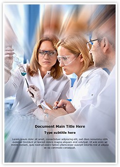 Science Students Laboratory Editable Word Template
