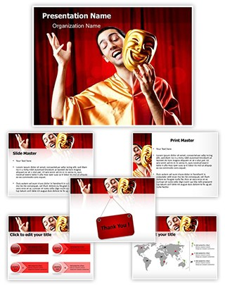 Actor Editable PowerPoint Template
